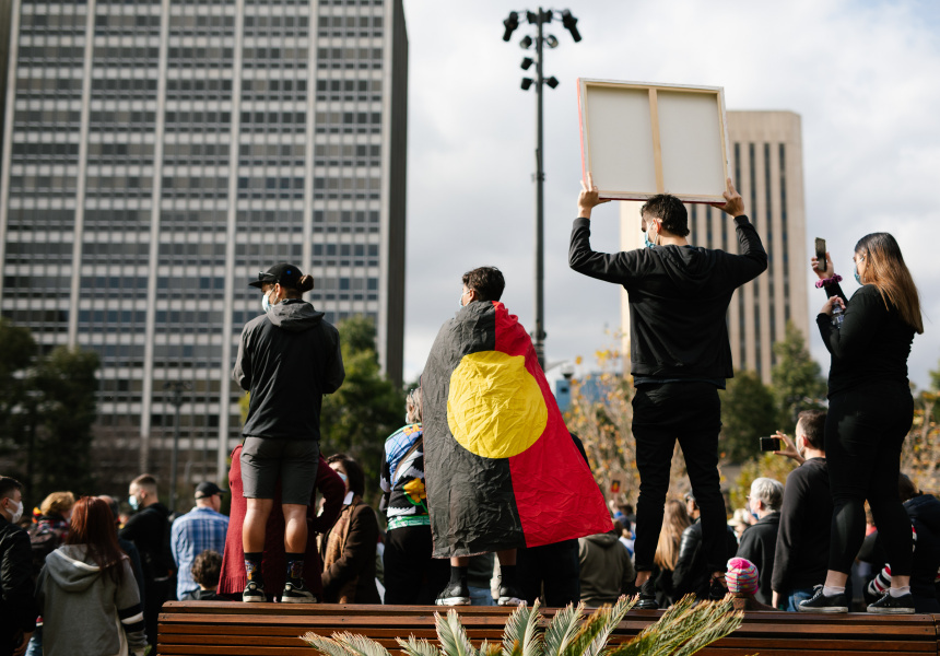 Adelaide's Black Lives Matter rally