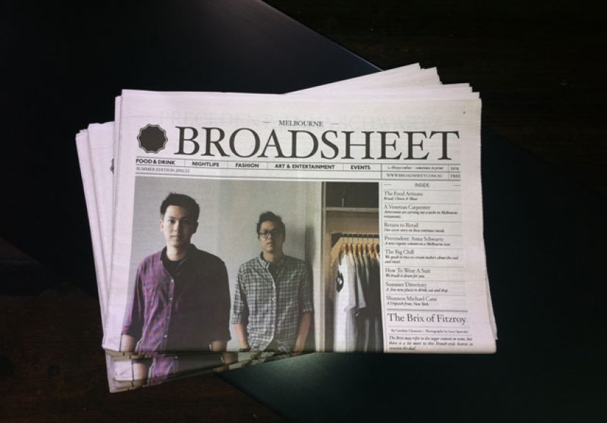 Broadsheet Summer Edition 2011/12, No.8