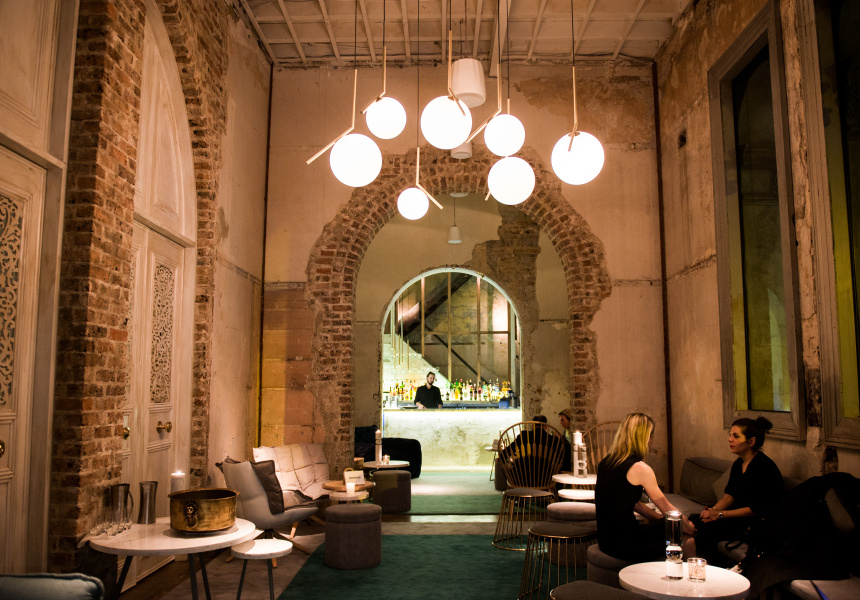 Beta opens on castlereagh broadsheet for Best private dining rooms sydney 2016