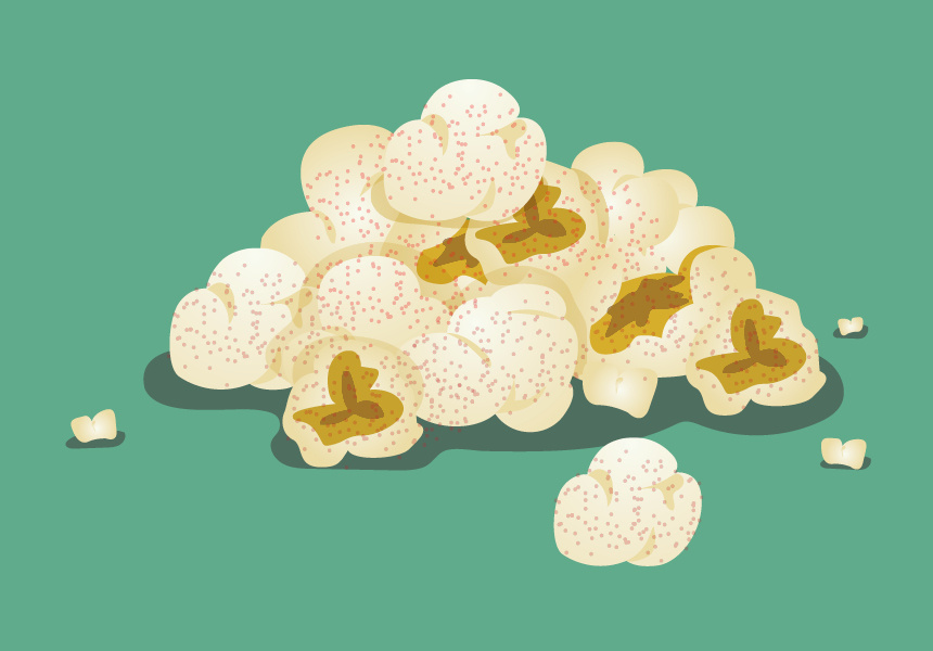 Popcorn. Illustrated by Paolo Sta. Barbara