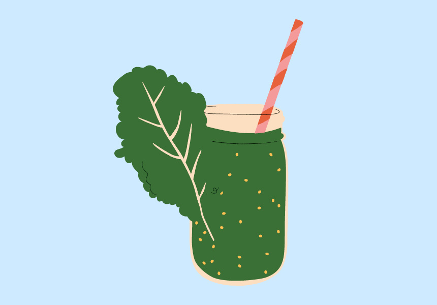 Kale. Illustration by Jazz Feldy