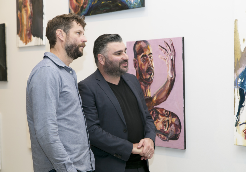 Ben Quilty and Michael Dagostino
