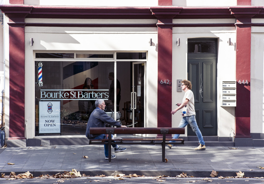 Bourke St. Barbers