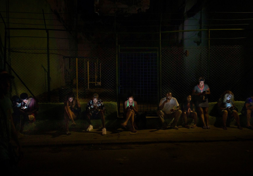 The Hotspot, 2018 from the series Havana by Stephen Dupont