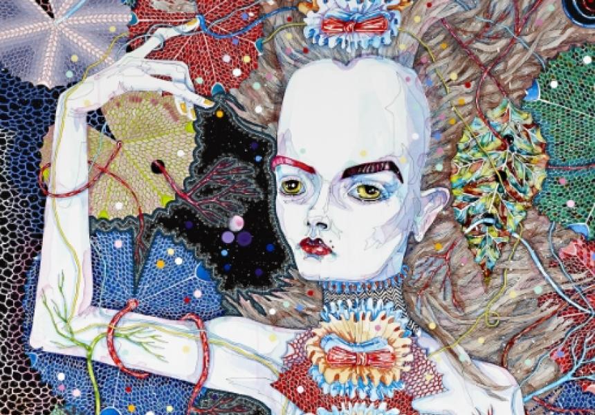Del Kathryn Barton's artwork