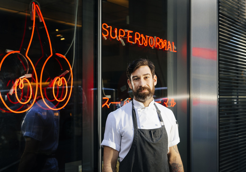 Supernormal senior sous chef Carl Dahren