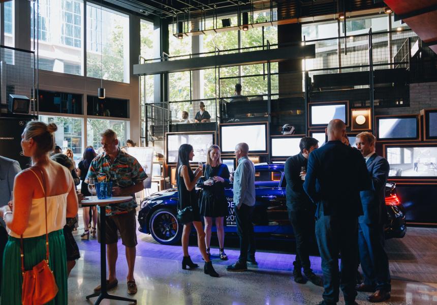 Mercedes me, Melbourne
