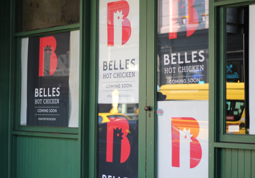 The new Belle's Hot Chicken location on Chapel Street, Windsor.