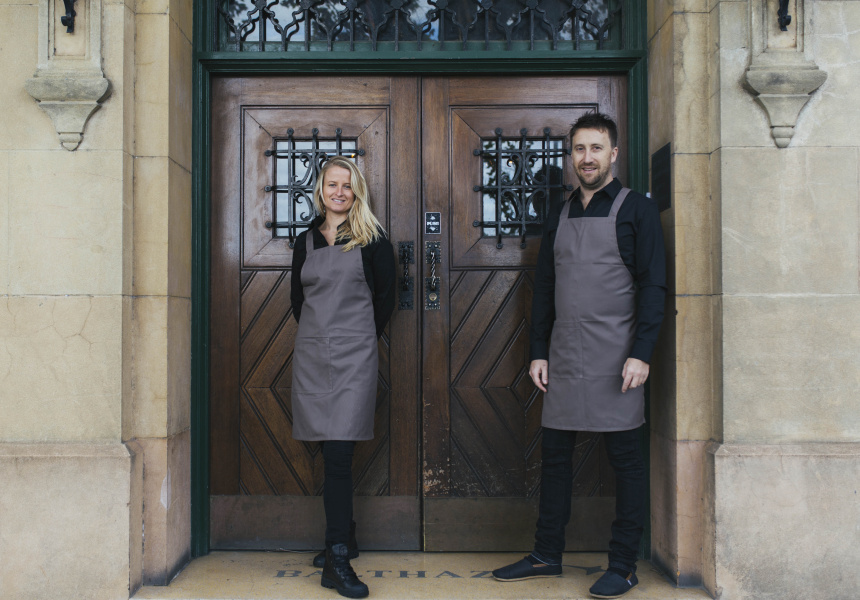 Emma Ferguson and Daniel Morris of Balthazar.