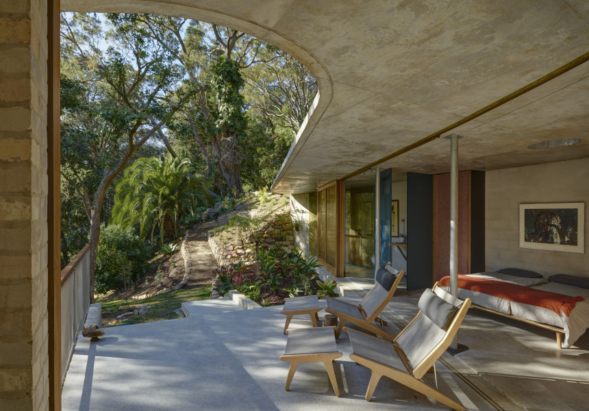 Cabbage Tree House by Peter Stutchbury Architecture (Bayview, NSW)