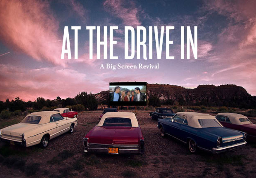 At The Drive In A Big Screen Revival Broadsheet