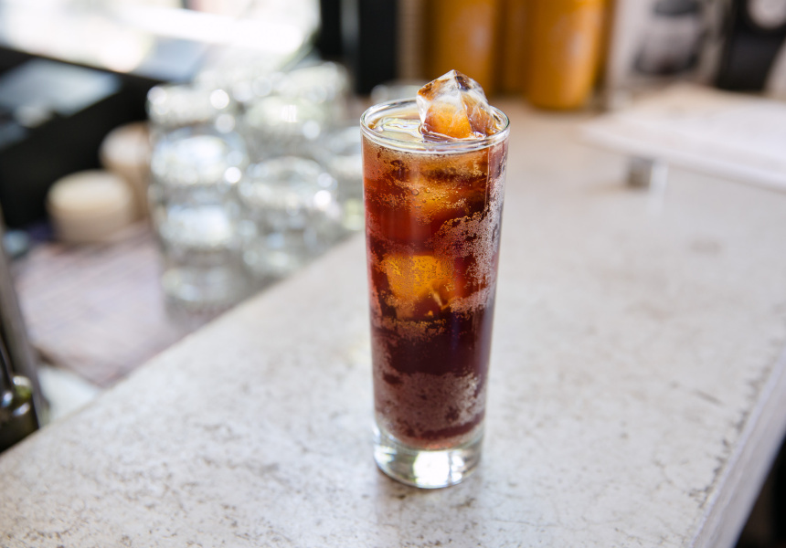 Coffee Cherry Soda, Plug Nickel, Melbourne