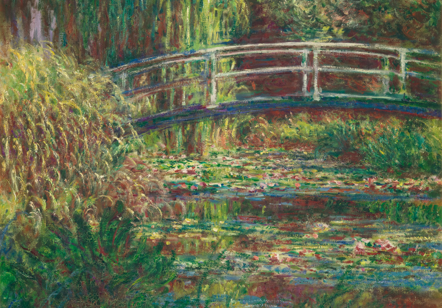 Monet, The Water Lilies Pond