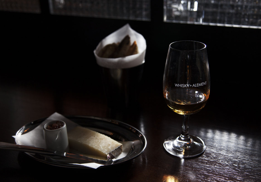 Cheese at Whisky & Alement