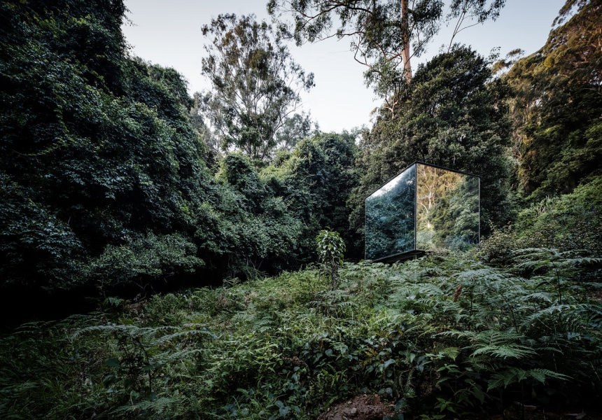 Kangaroo Valley Outhouse, Madeleine Blanchfield Architects