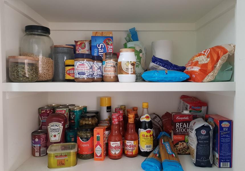The backup pantry