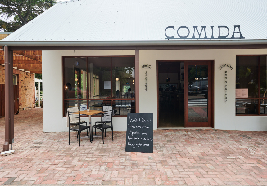 Now Open: Comida's Sprawling New Restaurant and Kitchen Garden in the Adelaide Hills