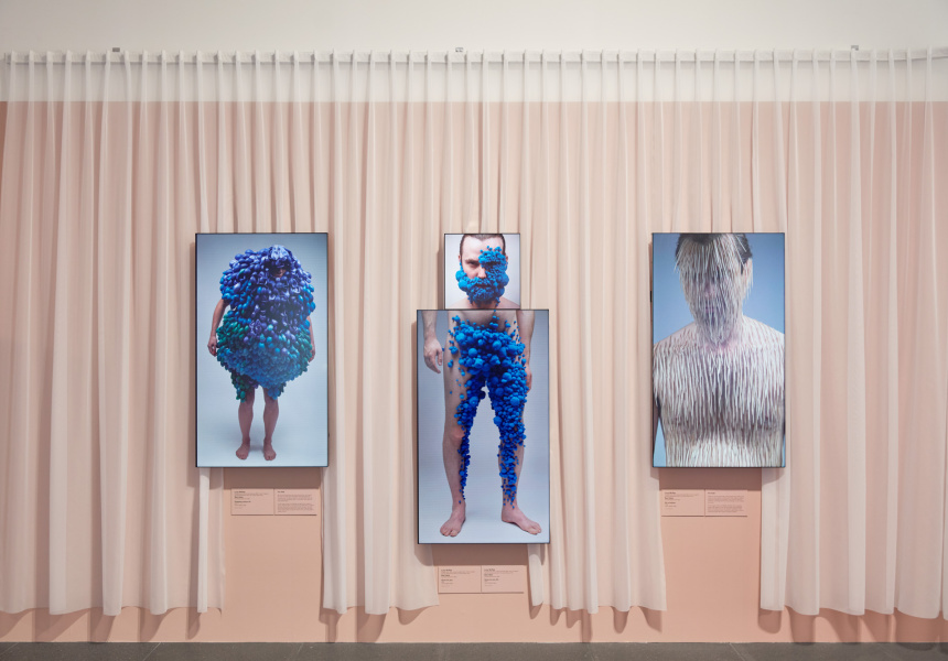 Installation view of Lucy McRae: Body Architect at The Ian Potter Centre: NGV Australia from 30 August 2019 – 9 February 2020. © Lucy McRae