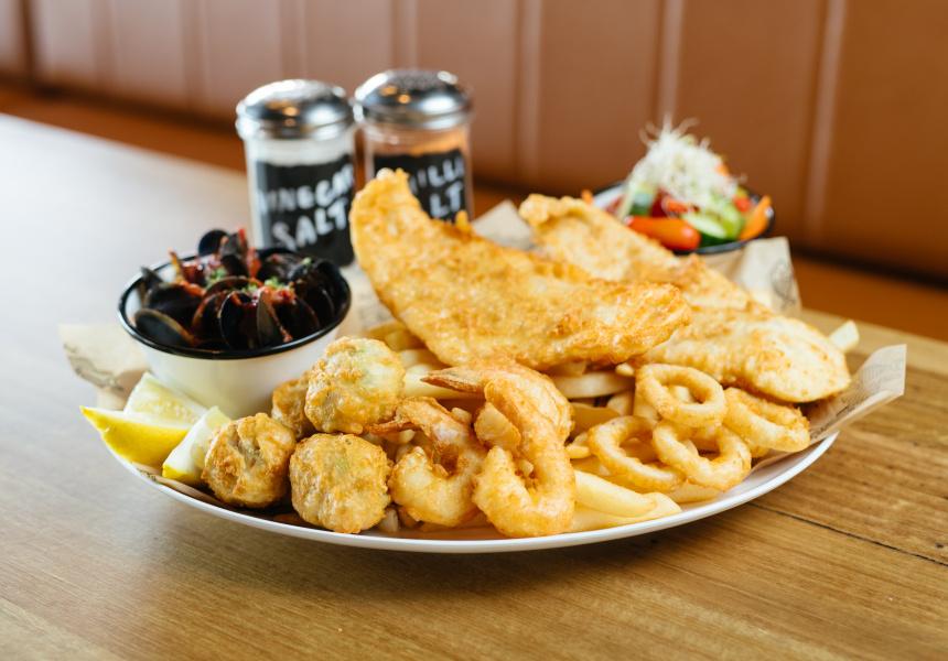 Kailis Fish Market Cafe Fremantle