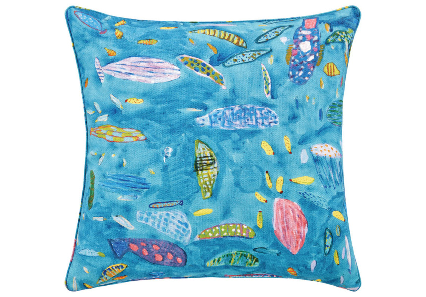 Ken Done Aquarium Cushion