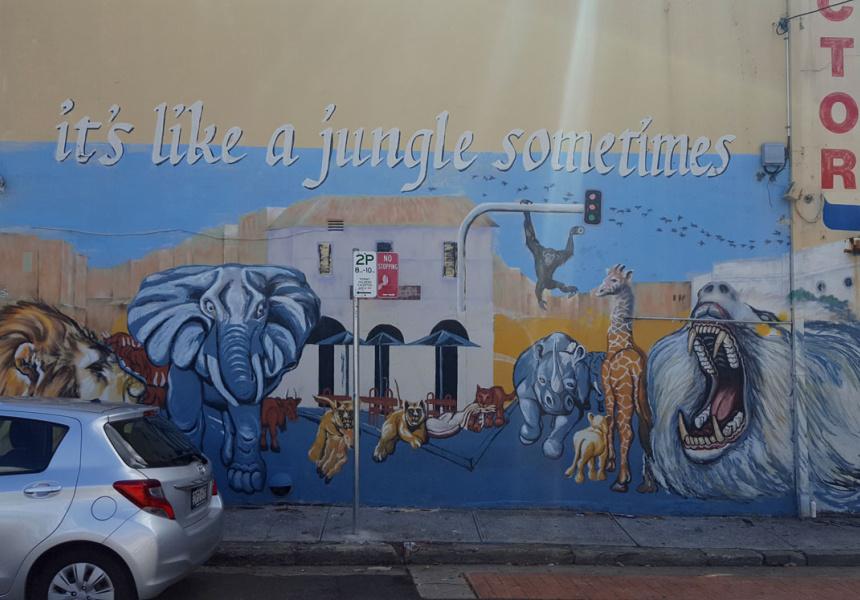 via Newtown Graffiti Map