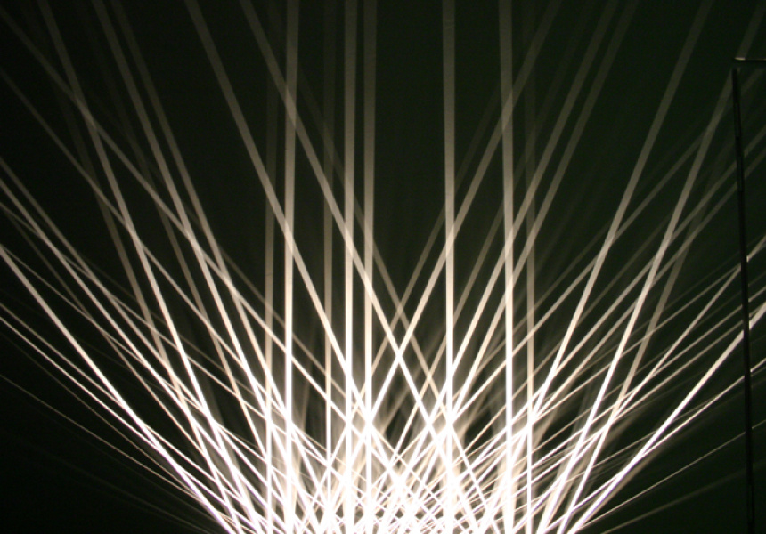 Julio Le Parc– Lumieres en vibration (Vibrating lights)