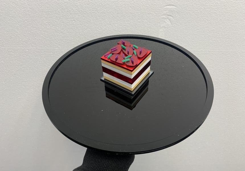 Black Star Pastry's watermelon cake