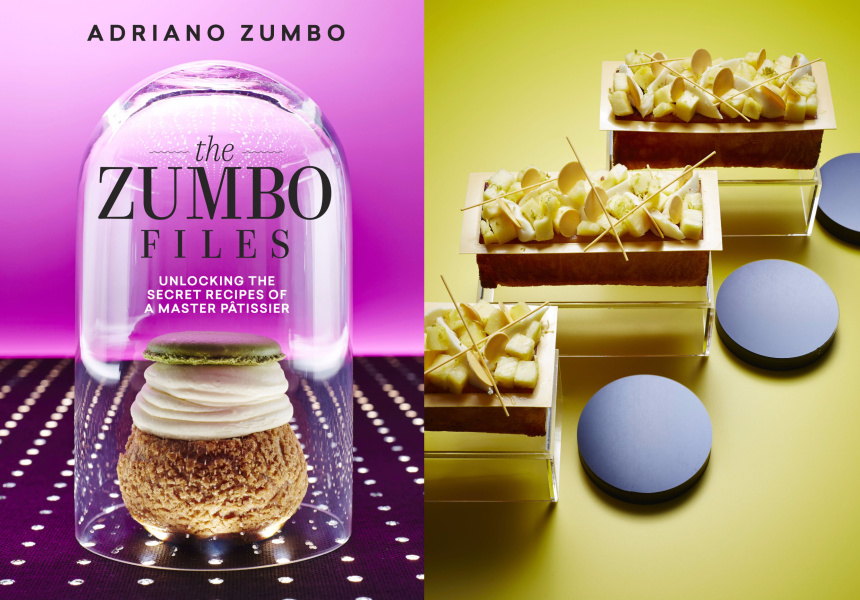 Flourless pineapple and coconut Recipe and images from The Zumbo Files by Adriano Zumbo (Murdoch Books)