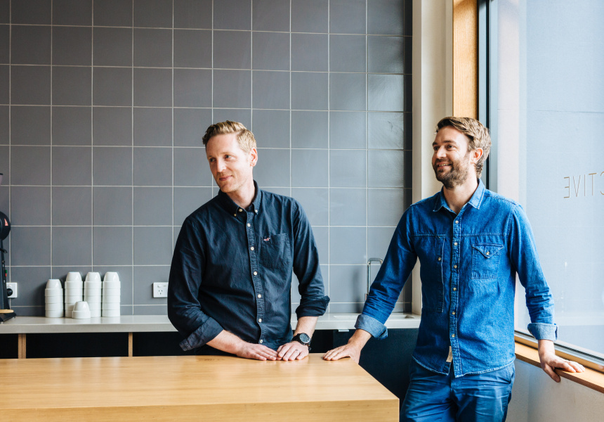 Tim Williams and Tim Varney of Bureaux collective