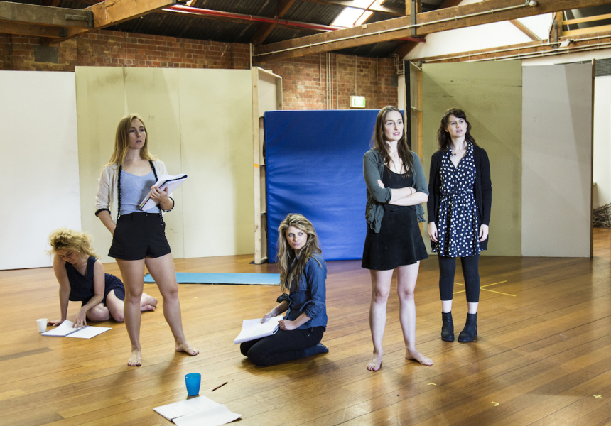 Rehearsals for Picnic at Hanging Rock
