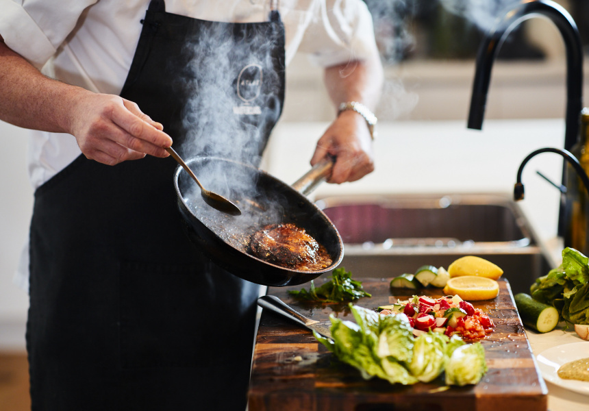 Atlas Dining chef Charlie Carrington