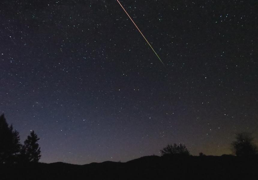 An Eta Aquariid meteor