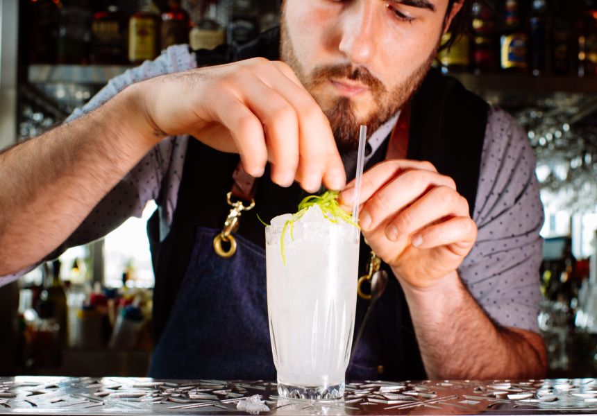 Stable Hands bartender, Matteo Scarano.