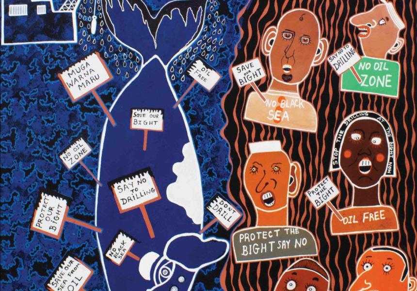 No Black Seas, Arts Ceduna Group Exhibition, Ace Open
