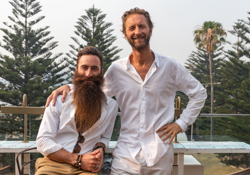 Jimmy Niggles (left) and Justin Hemmes (right).