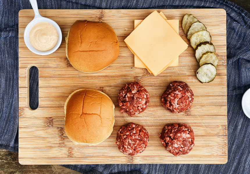 Easey's burgers
