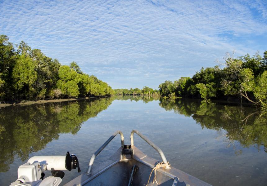 Fishing in Arnhem Land
