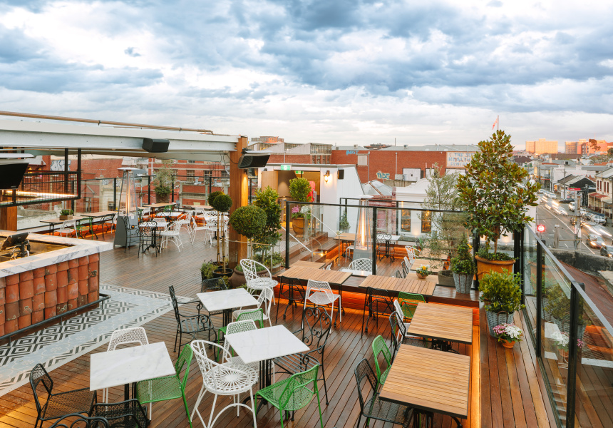 The provincial hotel opens its rooftop bar tonight for Hotel food bar atelier 84