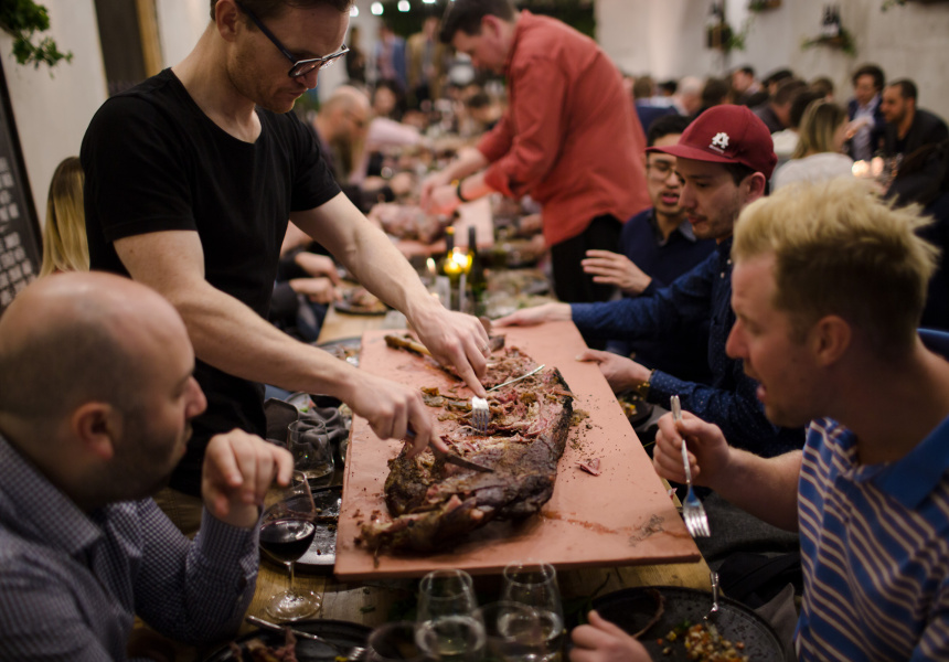 The Secret Feast by Broadsheet and The Stag