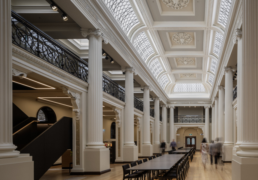 State Library of Victoria by Architectus and Schmidt Hammer Lassen Architects