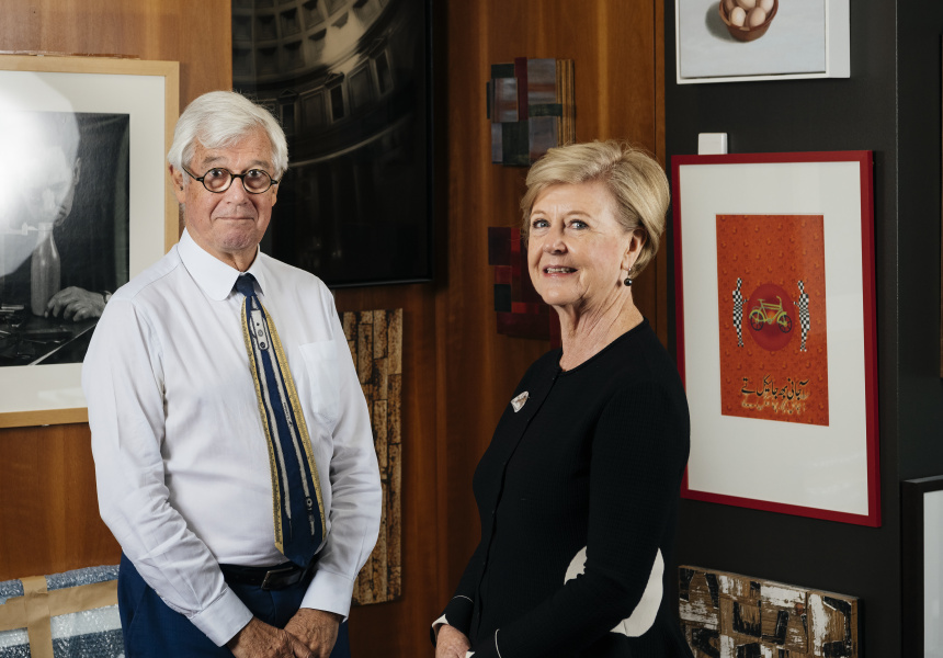 Julian Burnside and Gillian Triggs