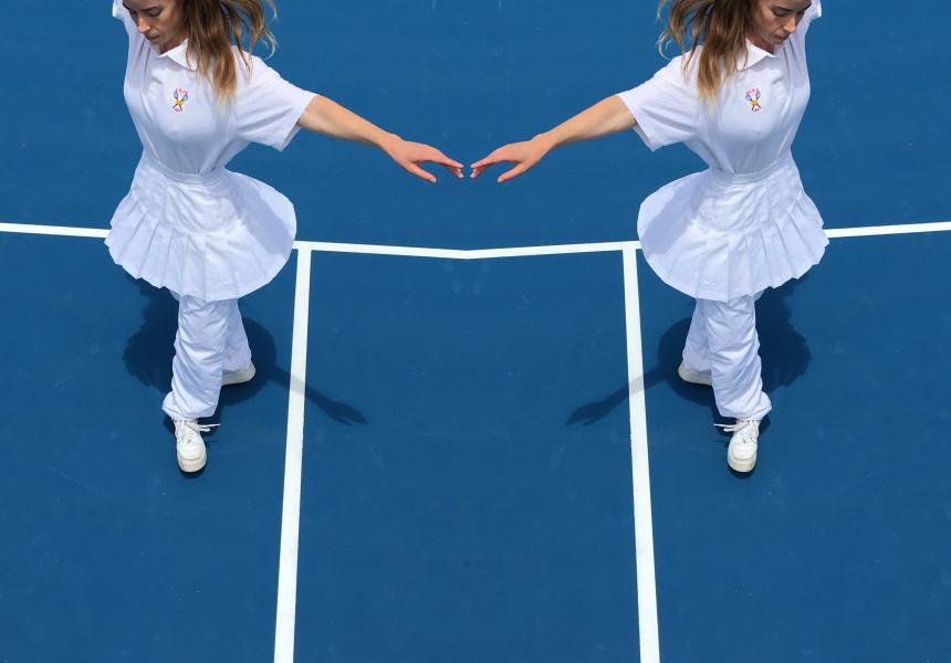 Atlanta Eke, The Tennis Piece