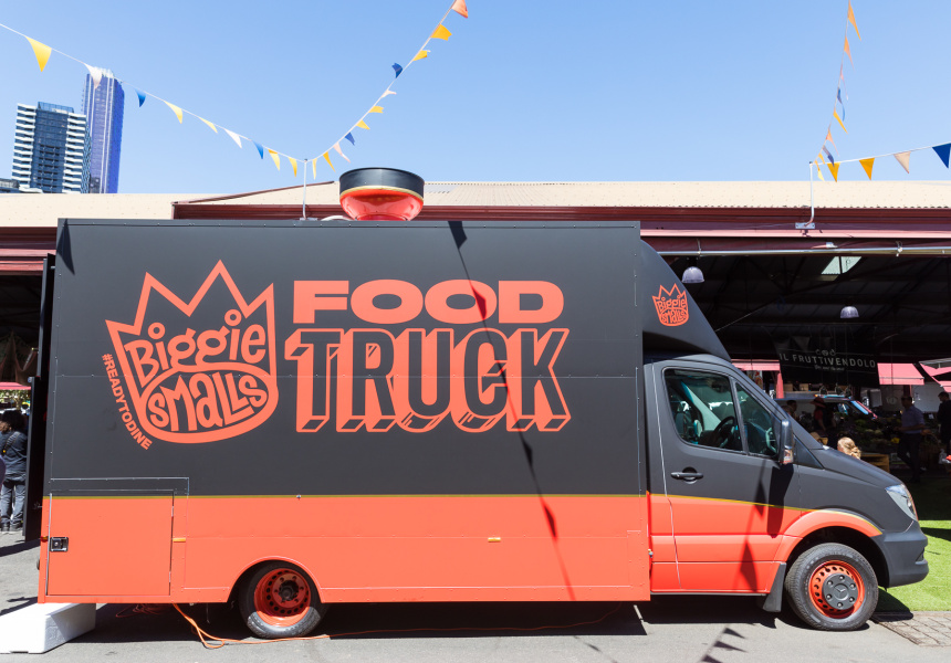 Shane Delia Launches New Food Truck With Mercedes Benz Vans