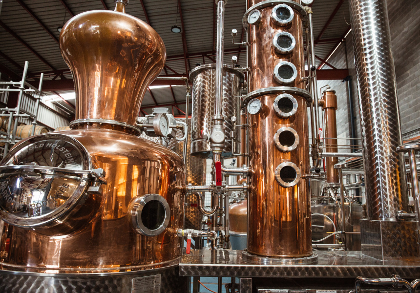 Manly Spirits Co Distillery