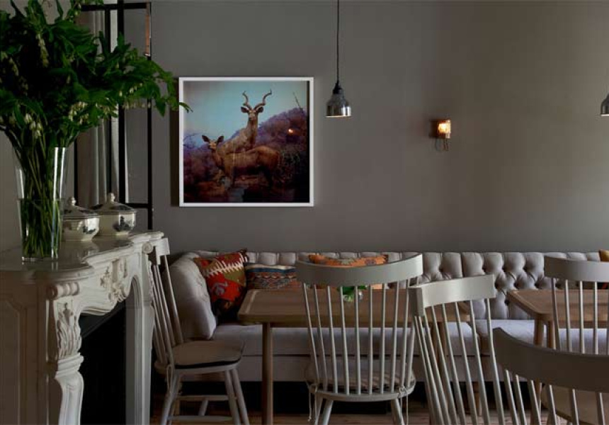 Photography Earl Carter. Photography on wall by Anne Zahalka, represented by Arc One Gallery, Melbourne