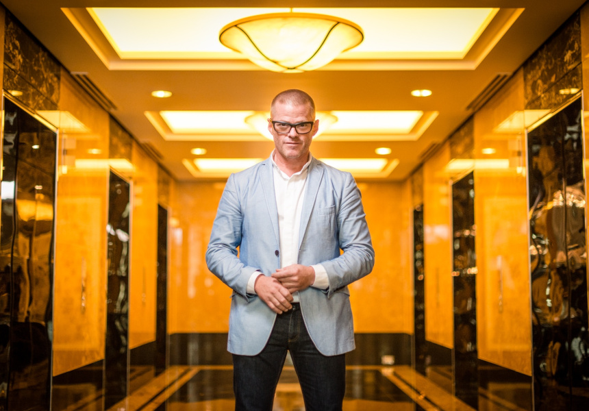 Heston Blumenthal at Crown Melbourne.