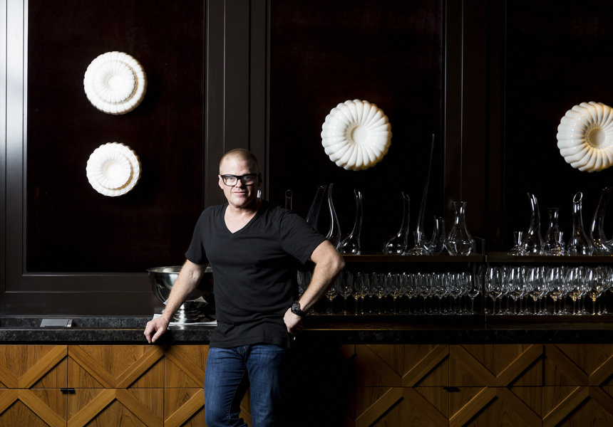 Heston Blumenthal at Dinner by Heston