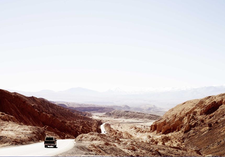 CRUISE  Road to Calama, Tierra Atacama, Chile 2012