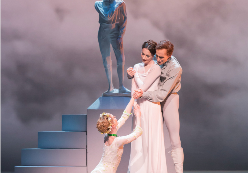 The Royal Ballet's Winter's Tale.