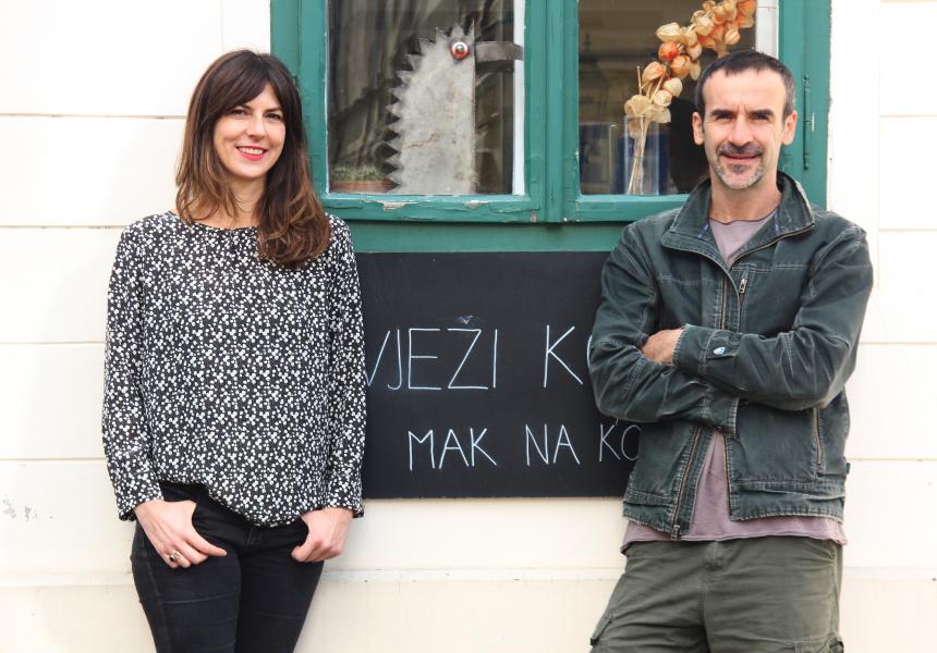 Curators, Olinka Vistica & Drazen Grubisic